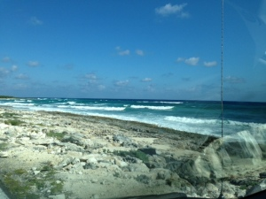 Back Side of Cozumel