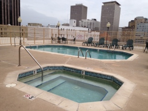 Drury Inn New Orleans Rooftop Pool
