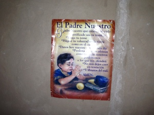 Lord's Prayer Espanol